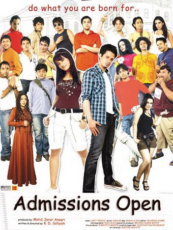 Admissions Open (2010) Hindi Movie Audio songs download  | Indian